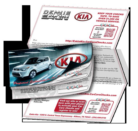 Kia Car Care Chex